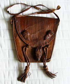 Lizard Leather Purse
