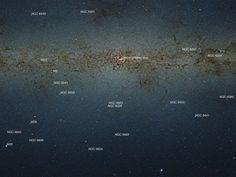 The Milky Way as you've never seen it before: New pictures from nine GIGAPIXEL camera reveal our galaxy in unprecedented detail | Mail Online