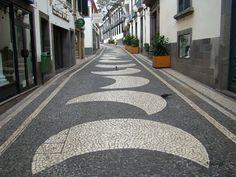 Madeira island -: CALÇADA PORTUGUESA