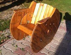 Fauteuil en touret de bois bois,fauteuil,touret,en,de