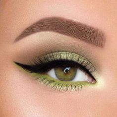 Green Eyeshadow Look, Colorful Eyeshadow, Eyeshadow Looks, Eyeshadow Makeup, Natural Eyeshadow, Pink Eyeshadow, Eyemakeup For Green Eyes, Eyeshadow Palette, Makeup Palette
