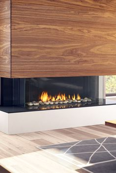 Meet the Regency City Series™ San Francisco Bay Use any finishing material right to the edge of the fireplace, even wood! Electric Fireplace Surround, Modern Electric Fireplace, Linear Fireplace, Modern Fireplace, Living Room With Fireplace, Fireplace Surrounds, Fireplace Design, Home Living Room