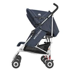 Maclaren Denim Twin Triumph Stroller Indigo ** Visit the image link more details. (This is an affiliate link) Baby Doll Strollers, Twin Strollers, Best Baby Strollers, Double Strollers, Twin Pram, Pink Prams, Best Prams, Best Lightweight Stroller, Baby Jogger City Select