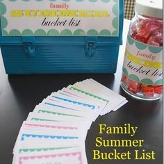 Summer Activity Cards