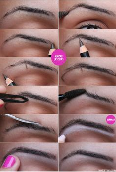 COMO DEPILARSE LAS CEJAS EN CASA #eyebrowns #cejas #depilarse. www.blogderay.com