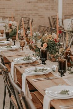Different uncovered wedding reception ideas Watch for - Boho Wedding Wedding Reception Ideas, Wedding Decor, Reception Table Decorations, Wedding Table Settings, Wedding Centerpieces, Fall Wedding, Rustic Wedding, Wedding Planning, Boho Wedding