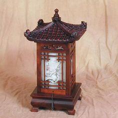 Plum Blossoms Pagoda Lamp