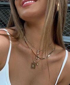 Nail Jewelry, Dainty Jewelry, Cute Jewelry, Gold Jewelry, Jewelry Accessories, Jewelry Necklaces, Jewlery, Jewelry Ideas, Layering Necklaces