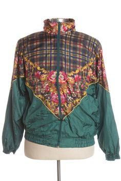 Rose accented 90's Jacket