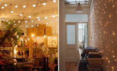 Decoración de Navidad - iluminación - guirnaldas