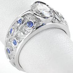Something Blue - Knox Jewelers - Minneapolis Minnesota - Antique Engagement Rings - Large Image