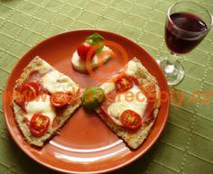 Detail receptu - Bezpšeničná minipizza