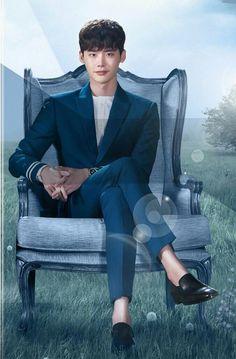 W: Two Worlds | Lee Jong Suk