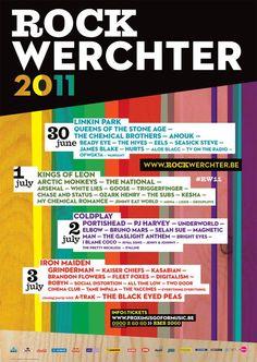 Rock Werchter (Belgium) 2011