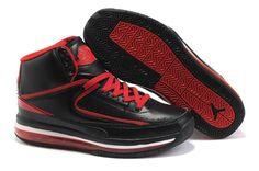 Air Jordan Retro 2s For men Black Red
