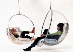 Bubble chair, by Eero Aarnio (1968)