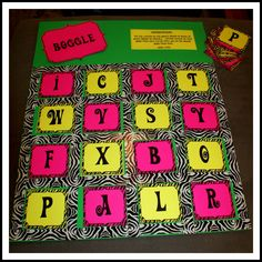 how to play boggle board