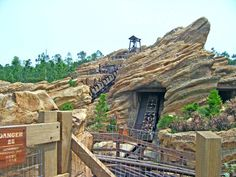 My favorite ride at the Wild West (Grizzly Gulch)