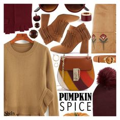 """Pumpkin spice and everything nice"" by pastelneon ❤ liked on Polyvore featuring Neiman Marcus, Dorothy Perkins, Roberto Cavalli and Nordstrom"