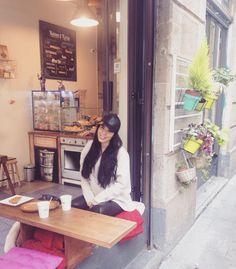 Rincones que enamoran  #spain #barcelona #travel #cafe #coffee #style #street by idmaryhernandez