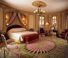 luxury-classic-romantic master bedroom-design-idea