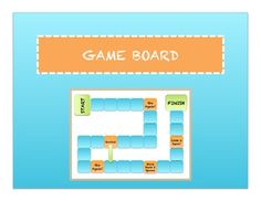 A game board to use with your own topics and question cards. Can be used for math problems, sight words, social studies, and science as either practice problems or quiz review. Ideal for centers, small groups, or partners.