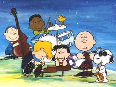 Peanuts quintet. They even have a groupie.  - Charles Schulz