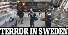 Stockholm terror attack: Truck rams into people in Sweden