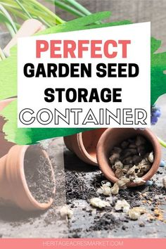 Trying to find a creative, practical method of storing seeds can be a major challenge. Sure shoeboxes work, but they aren't very tidy. Envelopes are also an option, but are difficult to organize. What are the best seed storage containers?  If you've experienced frustration with your seed collection, I am here to share a little gem with you. Sustainable Farming, Sustainable Living, Gardening For Beginners, Gardening Tips, Free Garden Planner, Seed Storage, Farm Lifestyle, Vegetable Garden Tips, Permaculture Design
