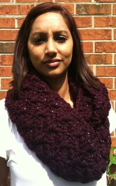 Galaxy Infinity Scarf by HeavAncyDesigns on Etsy
