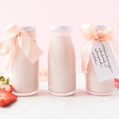 Jillian Harris Strawberry Rhubarb Almond Milk