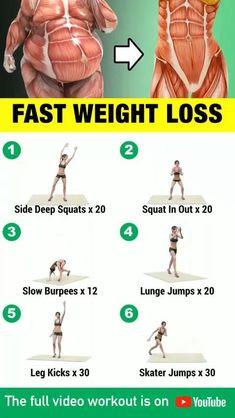 #ToothNervePain Body Weight Leg Workout, Full Body Gym Workout, Lower Belly Workout, Gym Workout Videos, Gym Workout For Beginners, Waist Workout, Fitness Workout For Women, Weight Loss Workout Plan, Fitness Workouts