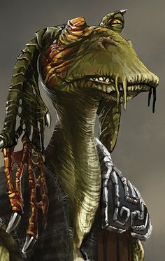 Kleef - Gungan mercenary operating as a member of Chop'aa Notimo's mercenary gang; kidnapped Senator Garm Bel Iblis on Notimo's orders. He was killed by Starkiller in Cloud City.
