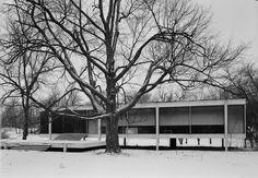 heathwest:  Ludwig Mies van der RoheFarnsworth House, 1945-1951Plano, Illinois