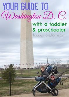 It was a memorable trip for our family - we love to travel with kids especially when we can get in a little history education as homeschool parents! Here's your guide to travel washington DC with preschooler and toddler in tow!