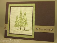 Stamp with Sandy: Plant Hope Clean and Simple