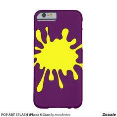 POP ART SPLASH iPhone 6 Case