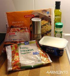 Aarnilintu: Arjen ja laihdutuskuurin pelastava kinkkukiusaus Snack Recipes, Snacks, Chips, Food, Snack Mix Recipes, Appetizer Recipes, Appetizers, Potato Chip, Essen