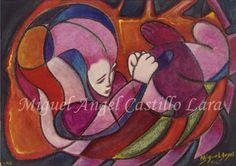 Obra: VALERIA  Técnica: Mixta  Medidas: 46.8 x 33 cm  Año: 2007