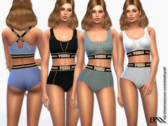 Sims 4 CC's - The Best: Designer Sport outfits by EsyraM