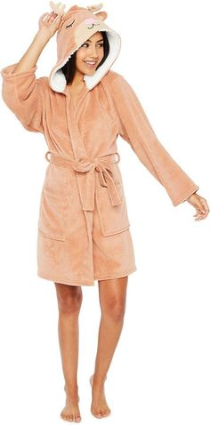 Pj Couture PJ Couture Cuddly Critters Robe with Hood