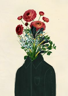 Collage Drawing, Collage Art, Collages, Character Illustration, Illustration Art, Surreal Artwork, Emotional Photography, Flower Collage, Human Art