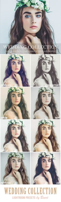 Wedding Lightroom Presets, compatible with Adobe Lightroom 4 - 6 and all Creative Cloud (CC) versions http://www.beart-presets.com/shop/wedding-lightroom-presets