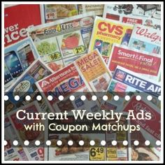 Target | Walgreens | Rite Aid | CVS | Ralphs  Albertsons | Vons | Stater Bros | Sprouts   Weekly Ads with Coupon Matchups