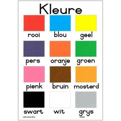 Colors | Afrikaans                                                                                                                                                                                 More