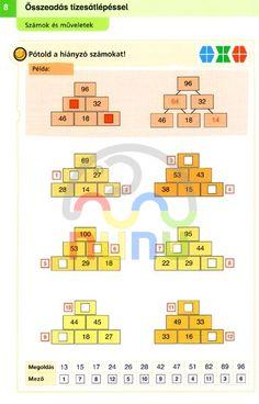 Játékos Matematika 3. Mini Lük
