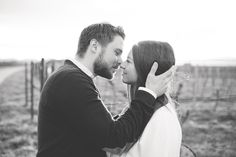 Engagement Shoot in the vinyards...magical moments with beautiful light. I love lovestories!