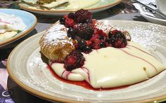 Bougatsan (Bugatsa + Croissant!)  http://www.greece-is.com/article/why-i-love-being-a-foodie-in-greece/