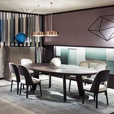 dining in the dark orlando 2015. dark star dining table, design by roberto lazzeroni for flexform mood., made in the orlando 2015