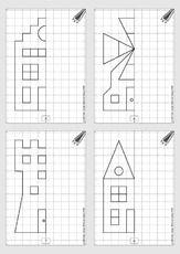 download geometrie linien und figuren spiegeln 1 grundschule mathe pinterest math. Black Bedroom Furniture Sets. Home Design Ideas
